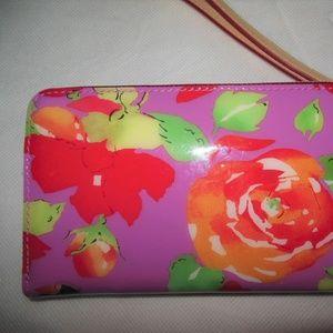 Dooney & Bourke Bags - NEW Dooney & Bourke Purple R Rose Wristlet Wallet